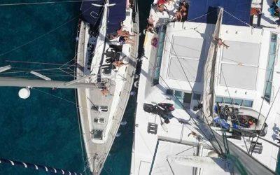 Pasqua in catamarano e in barca a vela